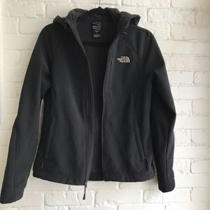 North Face Black Jacket Small zip up winter coat